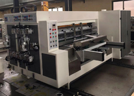 Multicolor Water Base Flexo Printer Slotter Machine Automatically CE Certification